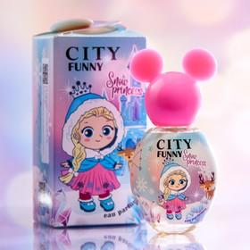 Детская душистая вода City Funny Snow Princess ДВ 30 мл , 30 мл
