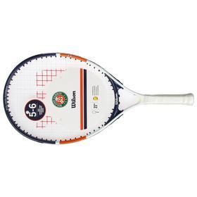 Ракетка для большого тенниса Wilson Roland Garros Elite 21, для детей 5-6 лет, со струнами Ош