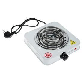 Плитка электрическая Econ ECO-112HP, 1000 Вт, 1 конфорка, белая Ош