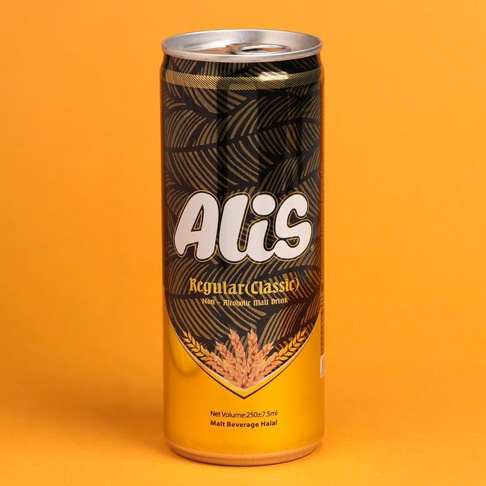 Безалкогольный солодовый напиток Alis классический, 240 мл