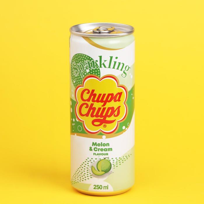Газированный напиток «Чупа-Чупс» Дыня крем, 250 мл