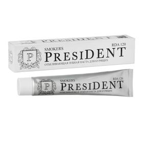 Зубная паста President Smokers, 120 RDA, 75 мл
