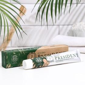 Зубная паста President Eco-Bio, 75 мл