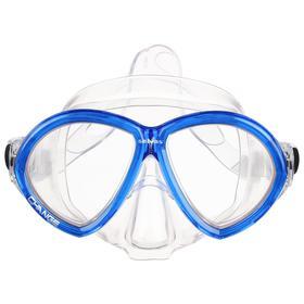 Маска для плавания Salvas Change Mask, закалённое стекло, Silflex, размер large Ош