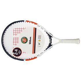 Ракетка для большого тенниса Wilson Roland Garros Elite 19, для 2-4 лет, алюминий, со струнами Ош