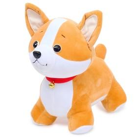 Мягкая игрушка «Собачка Корги Рокс», 30 см