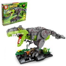 Конструктор Мир динозавров «Тиранозавр», 637 деталей