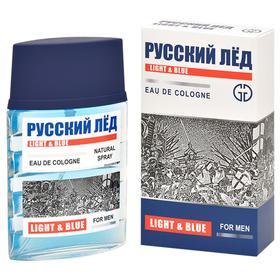 Одеколон мужской РУССКИЙ ЛЁД LIGHT & BLUE, 60 мл