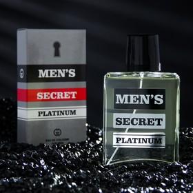 Одеколон мужской MEN'S SECRET PLATINUM, 95 мл