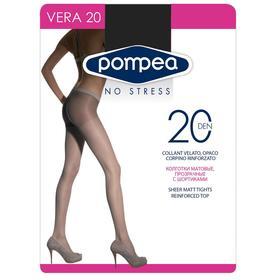 Колготки женские Vera 20 den, цвет nero, размер 2