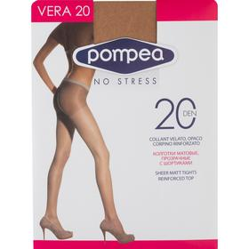 Колготки женские Vera 20 den, цвет cammello, размер 2