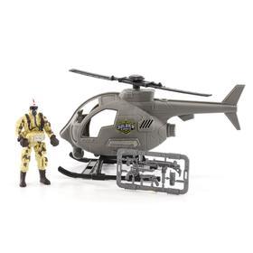 Игровой набор «Пилот на вертолете»