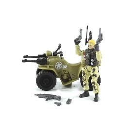 Игровой набор «Солдат на квадроцикле»