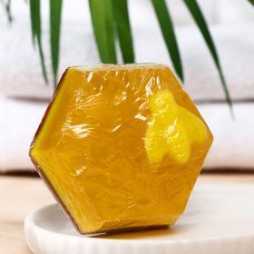 Мыло ручной работы Медовое с ароматом манго-маракуйя и прополисом, 70 г
