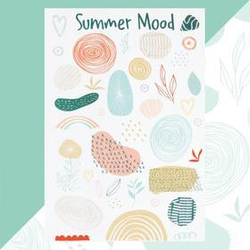 """Полотенце пляжное Этель """"Summer mood"""" 96х146 см, 100% хлопок"""