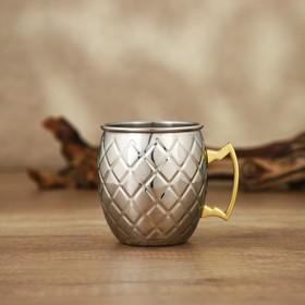 Кружка «Московский мул», 500 мл, цвет серебристый