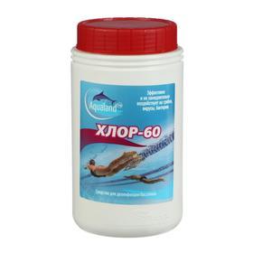 Дезинфицирующие средство Aqualand Хлор-60, 1 кг