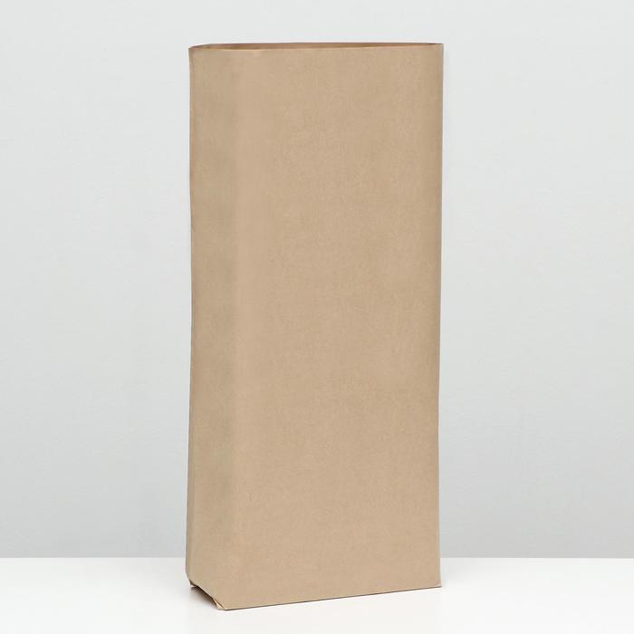 Крафт-мешок бумажный трёхслойный, 58x40x13 см