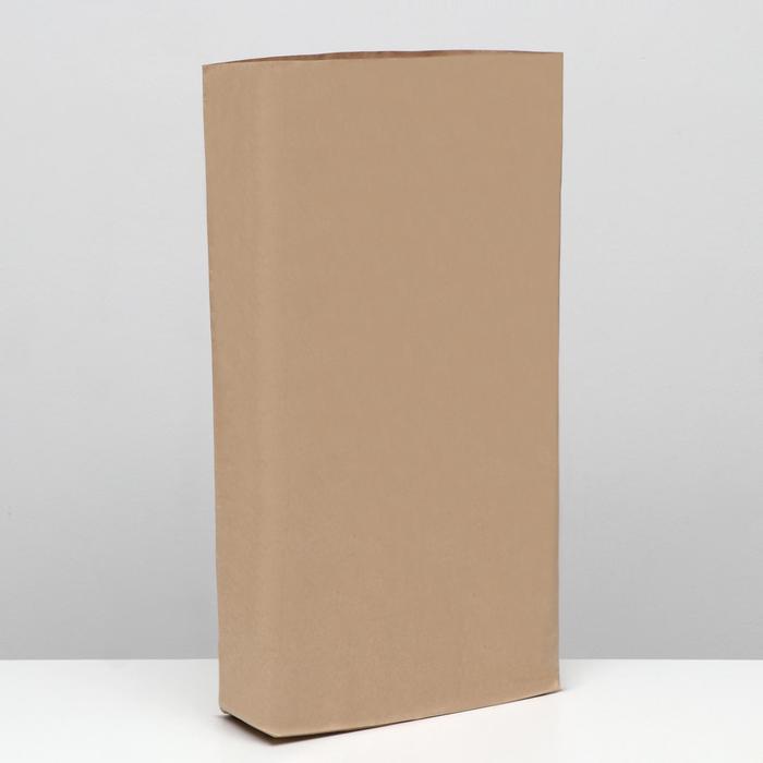 Крафт-мешок бумажный трёхслойный, 72x50x13 см