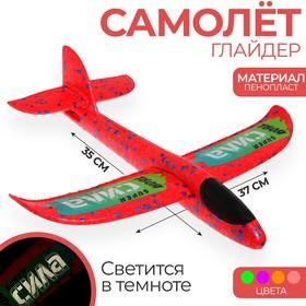 Самолёт «Сила» 35х37 см, цвета микс