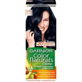 Крем-краска для волос Garnier Color Naturals, 1.10, Холодный черный, 110 мл