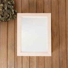 Зеркало навесное ЛИПА, левое открывание 47х37х12 см Ош