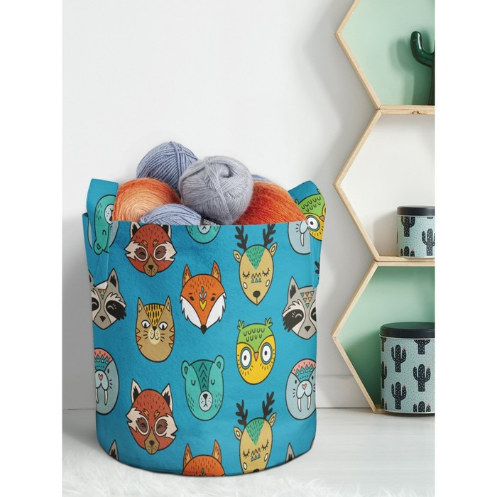 Декоративный мешок для хранения, размер 26,5 литров