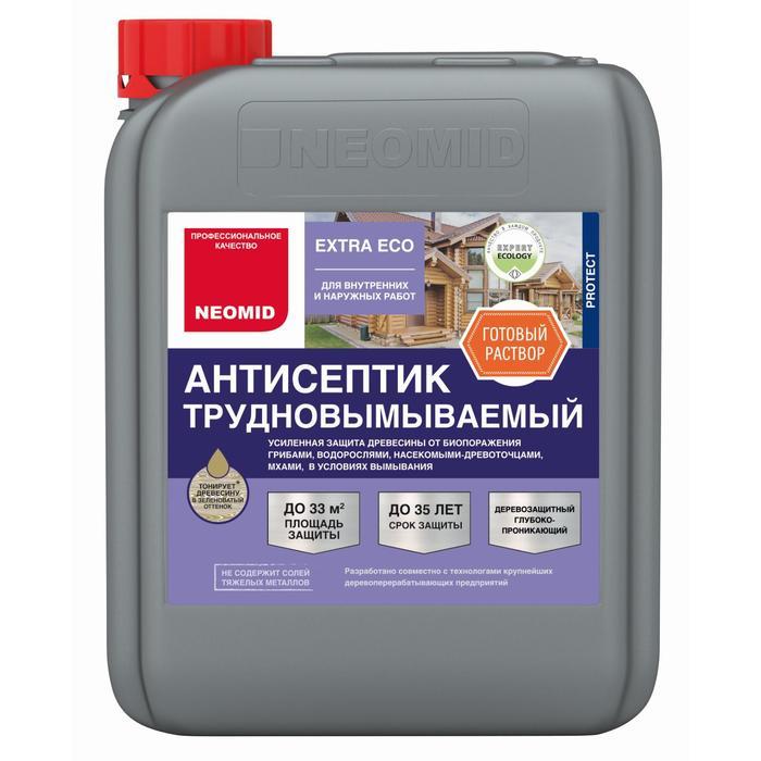 Extra eco трудновымываемый консервант для древесины NEOMID 5кг