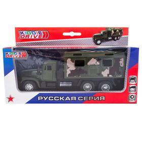 Игрушка «Военный грузовик», инерционный, зеленый
