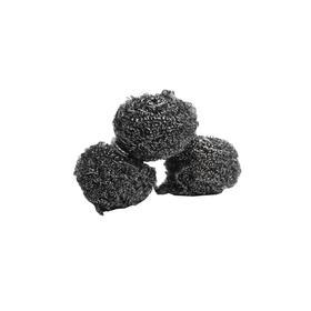 Набор мочалок из нержавеющей стали, 3 шт