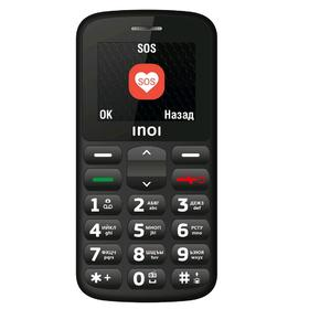 """Сотовый телефон INOI 107B, 2"""", 2 sim, 32Мб, microSD, 0.1 Мп, 800 мАч, чёрный"""