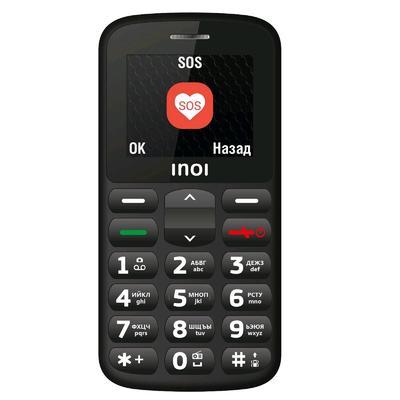 """Сотовый телефон INOI 107B, 2"""", 2 sim, 32Мб, microSD, 0.1 Мп, 800 мАч, чёрный - Фото 1"""
