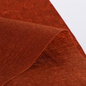 Лоскут для рукоделия 42*42см фетр коричневый,160 гр/м2