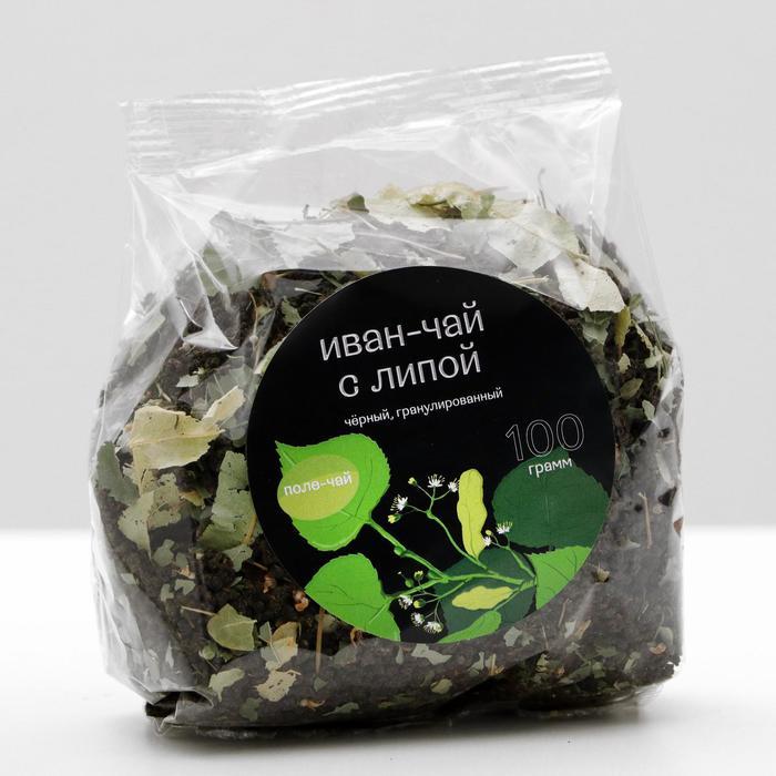 Иван - чай гранулированный с липой, 100 г