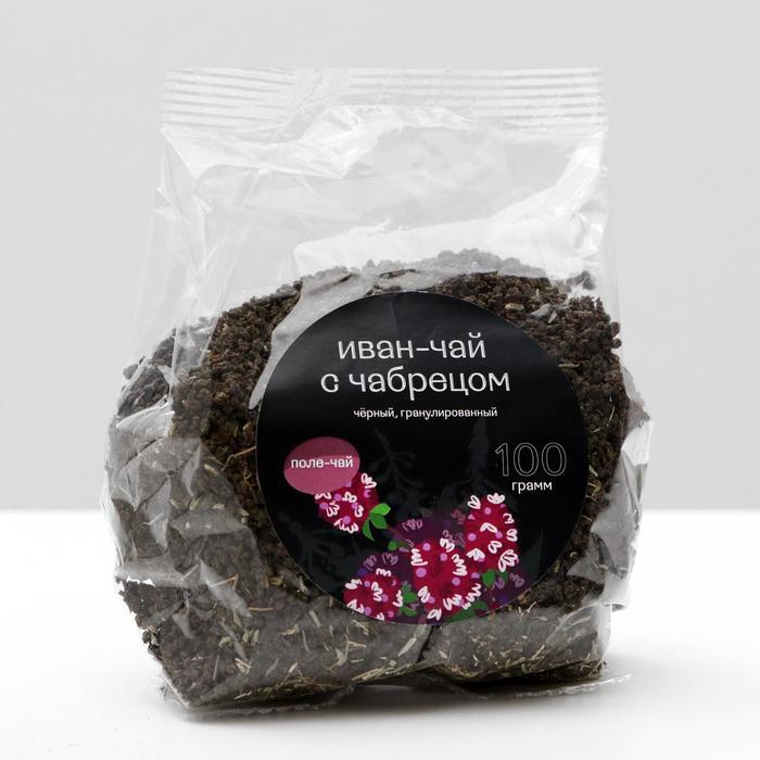 Иван - чай гранулированный с чабрецом, 100 г