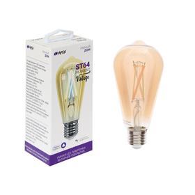 Умная LED лампа HIPER, Wi-Fi, Е27, ST65, 7 Вт, 2700-6500 К, 600 Лм, винтаж