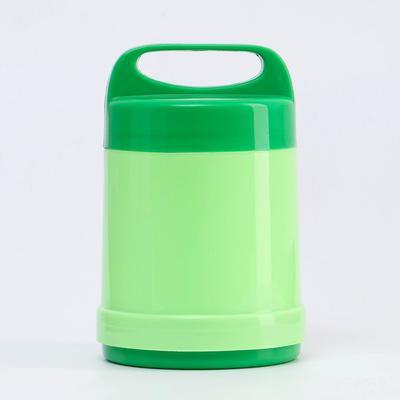 """Термос """"Лектур"""", 500 мл, сохраняет тепло 2 ч, 17 х 11.5 см, зелёный - Фото 1"""