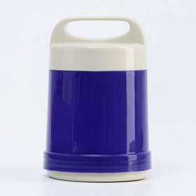 """Термос """"Лектур"""", 500 мл, сохраняет тепло 2 ч, 17 х 11.5 см, фиолетовый"""