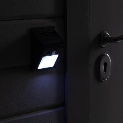 """Светильник на солнечной батарее """"Старт"""", 20 led, IP65, с датчиком движения, настенный - Фото 1"""