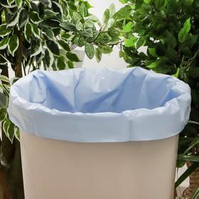 Мешки-вкладыши в бочку «Узоры чистоты», 240 л, 90×135 см, 76 мкм, ПВД, 5 шт, цвет синий
