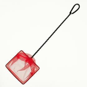 Сачок BARBUS с удлинённой ручкой и инфрокрасной сеткой, 15*12,5*45 см Ош