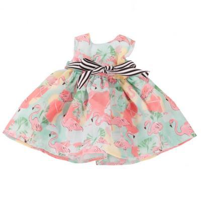 Платье «Фламинго», для куклы 45-50 см - Фото 1