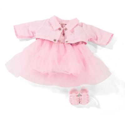 Набор одежды сандали, платье, жакет, для куклы 30-33 см - Фото 1