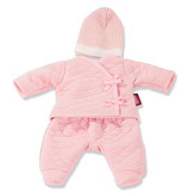 Одежда на прогулку, розовая, для куклы 30-33 см