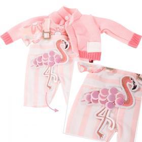 Набор одежды «Фламинго» для куклы 30-33 см