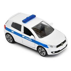 Модель машины «Полицейская машина»
