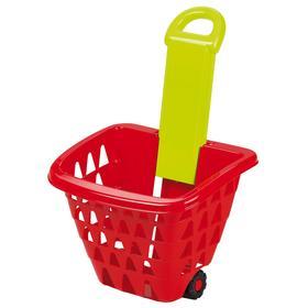 Детская корзина для продуктов на колёсах