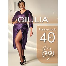 Колготки женские POSITIVE LOOK 40 ден цвет чёрный (nero), размер 6/XXL