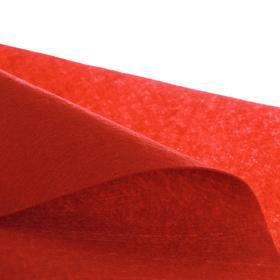 Лоскут для рукоделия 42*42см фетр бордо,160 гр/м2