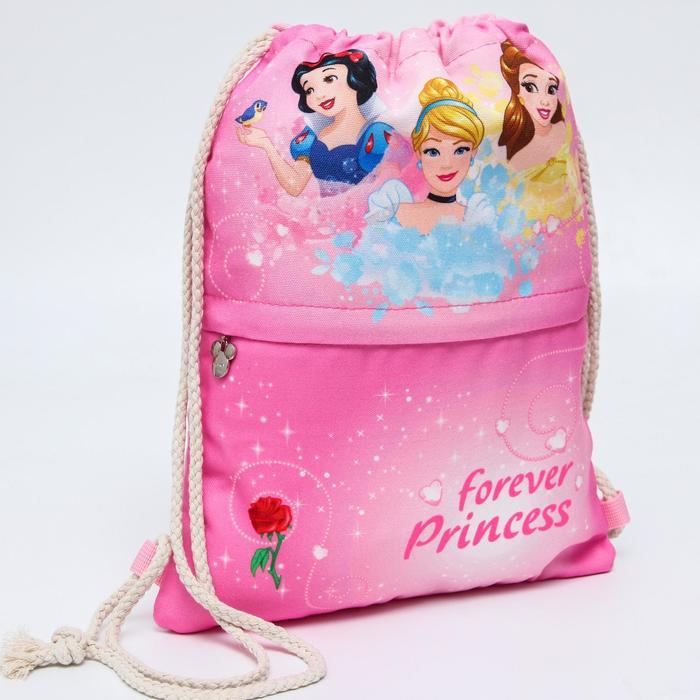 Мешок для обуви «Forever Princess», Принцессы